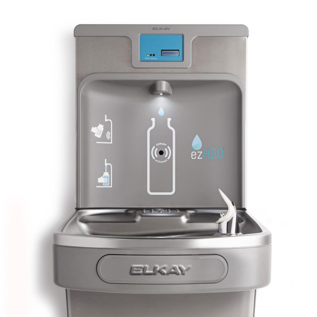 Indoor bottle filler ezH2O